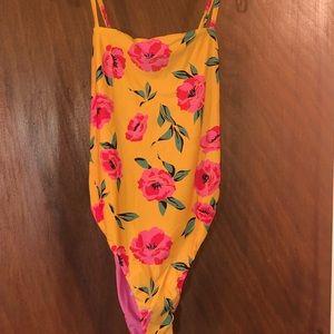 UO Billabong Hike Cross-Back One-Piece Swimsuit
